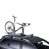 Lichte en handige fietsendrager met vorkmontage