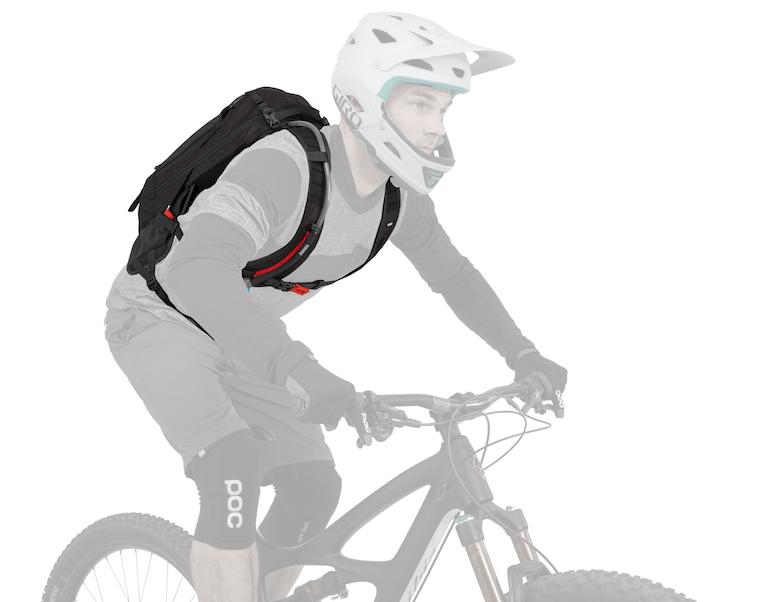 Thule rugtas Rail Pro fiets