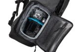 Thule camera backpack Covert Rolltop inhoud