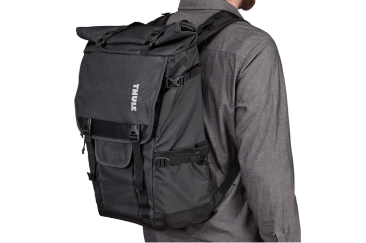 Thule camera backpack covert rolltopp lichaam