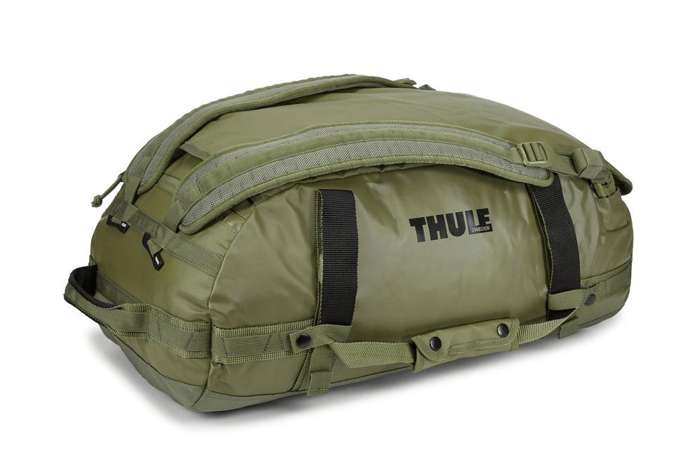 Thule reistas Chasm 40L zijkant groen