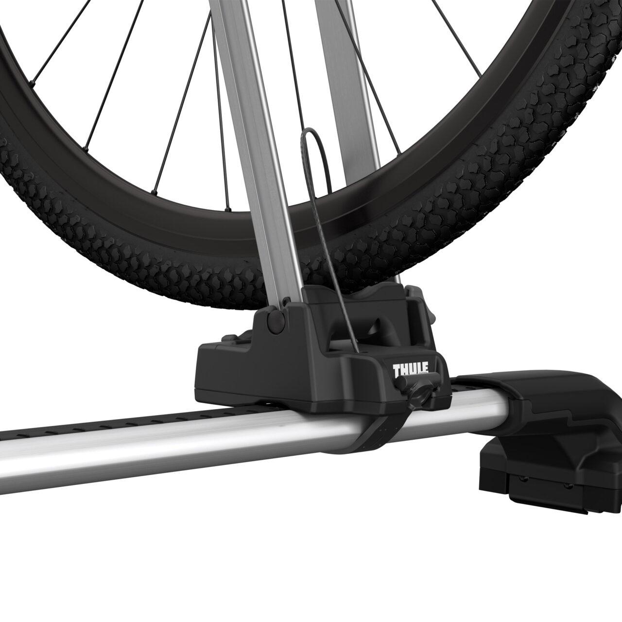 Thule Front Wheel Holder – Gemonteerd Wiel