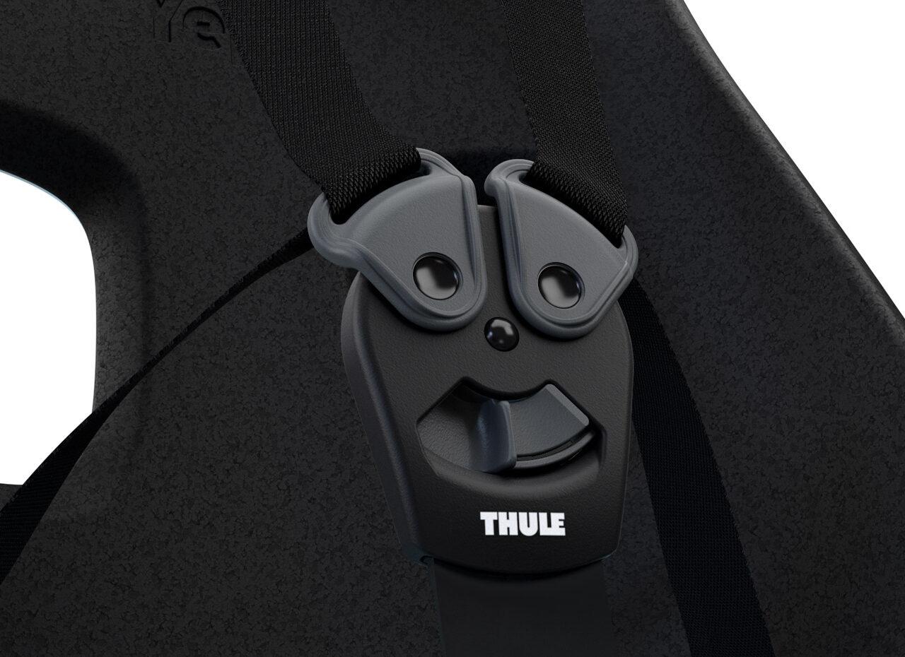 Thule Yepp Nexxt Maxi – Zwart gemonteerd achterop