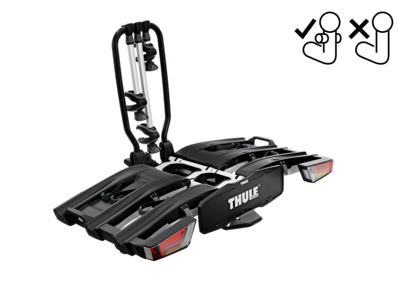 De Thule EasyFold XT F3 heeft een speciale pasvorm voor een FIX4BIKE trekhaak, deze is dan ook alleen geschikt voor dit type trekhaak!