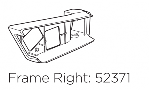 Thule lamp frame 52371